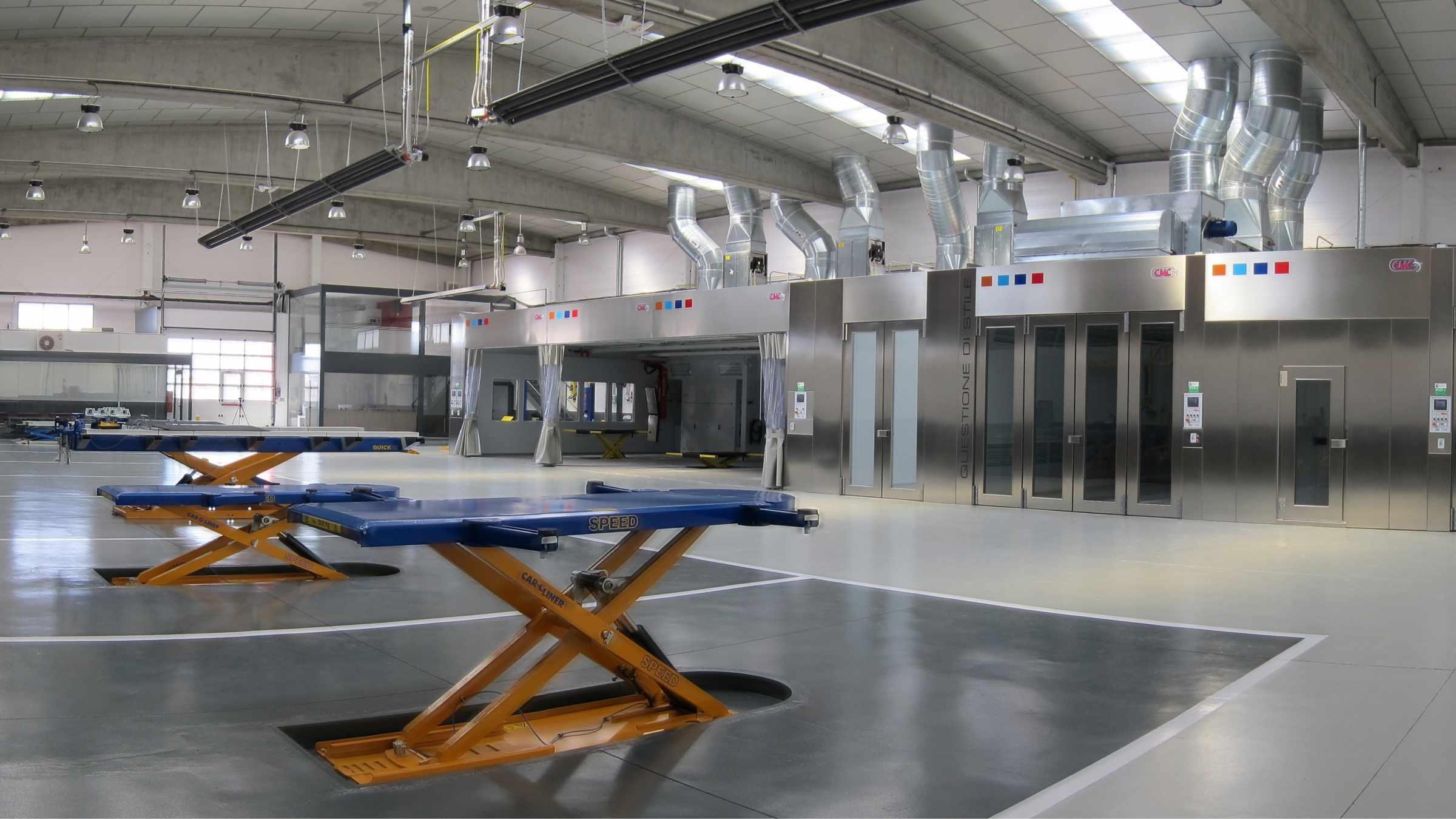 Cabines de pintura GSX Carrosseria - Taller de xapa i pintura